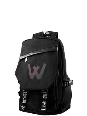 Рюкзак чорний Valiria Fashion | 5313189
