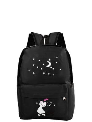Рюкзак чорний Valiria Fashion | 5313200