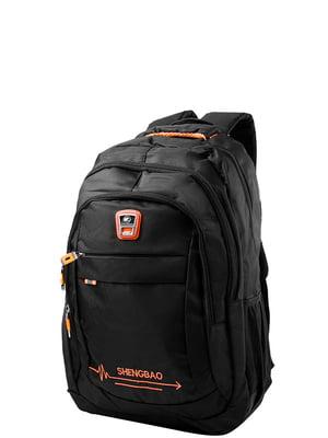 Рюкзак чорний Valiria Fashion | 5313204