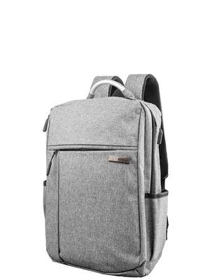 Рюкзак сірий Valiria Fashion | 5313240