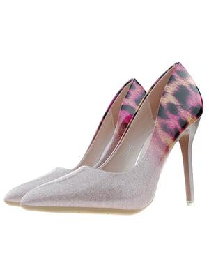 Туфлі бежево-рожеві   5312837
