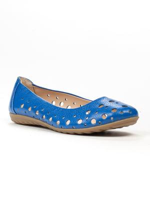 Балетки синие | 5304045