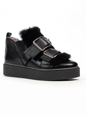 Ботинки черные | 5306116