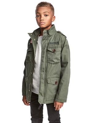 Куртка кольору хакі | 5315352