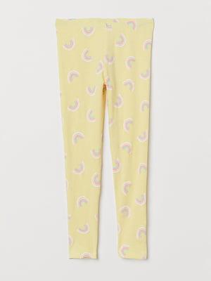 Легінси жовті | 5315353