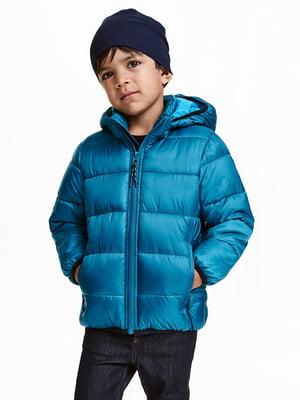 Куртка бірюзова | 5315397