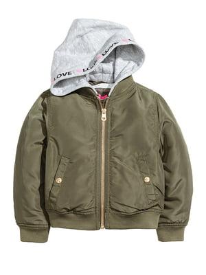 Куртка кольору хакі | 5315398