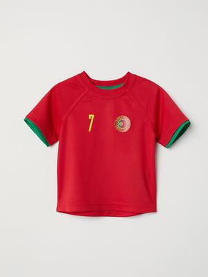 Футболка червона | 5315423