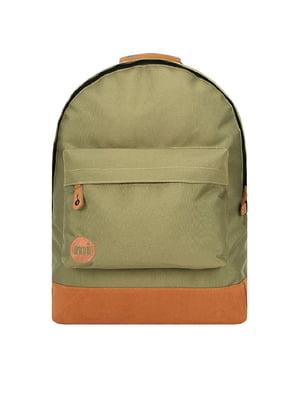 Рюкзак оливкового цвета | 5315432