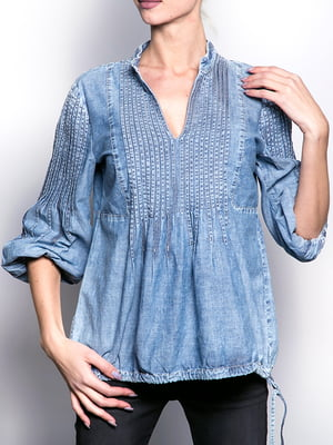 Блуза голубая | 5313625