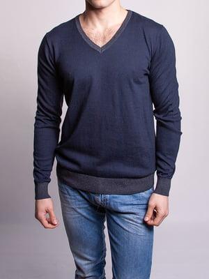 Пуловер синій | 5314099
