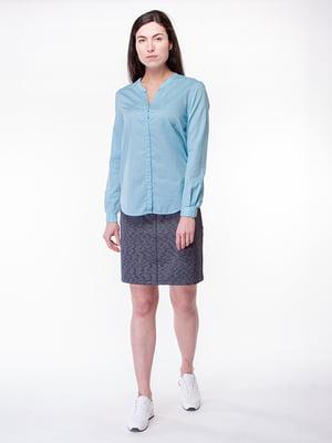 Блуза блакитна | 5314279