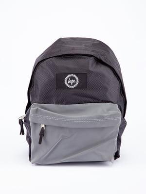 Рюкзак сіро-чорний | 5314332