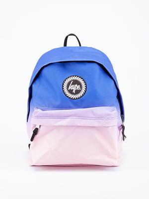 Рюкзак синьо-рожевий | 5314360
