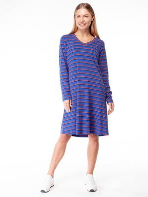 Сукня синя в смужку | 5314467