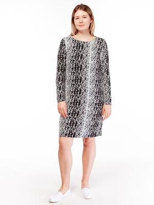 Платье комбинированной расцветки | 5314531