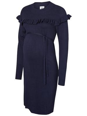 Платье синее | 5314532