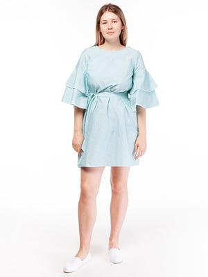 Платье мятного цвета | 5314536