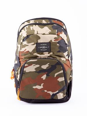 Рюкзак кольору хакі | 5314585