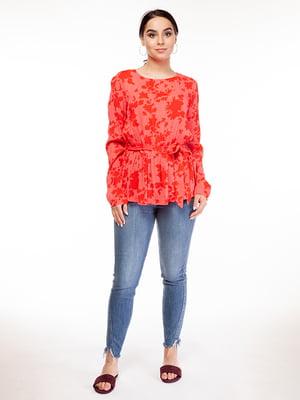 Блуза в принт | 5314702