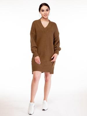 Сукня кольору хакі | 5314765