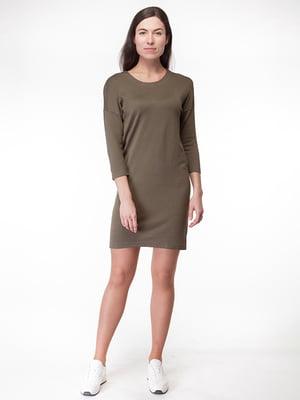 Платье цвета хаки | 5314906
