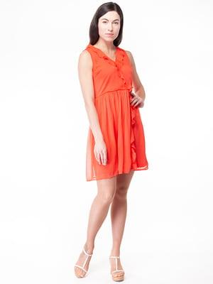 Платье кораллового цвета | 5314929