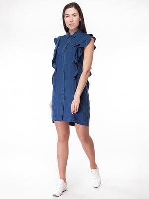 Платье синее | 5314936