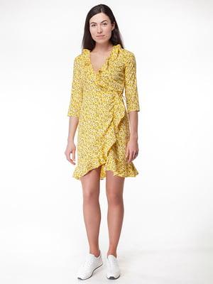 Платье желтое | 5314937