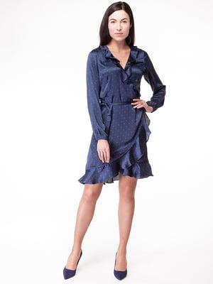 Платье синее | 5314943