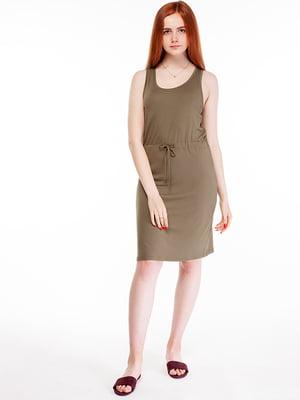 Сукня кольору хакі | 5314966