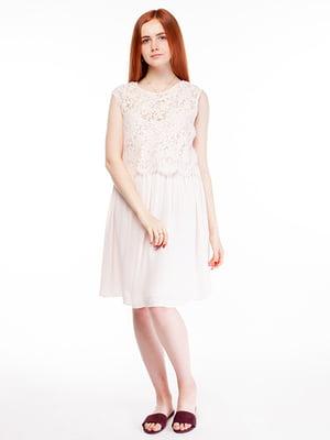Сукня пудрового кольору | 5314970