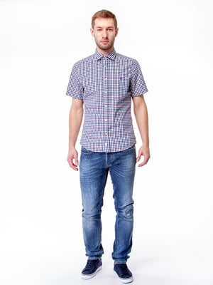 Рубашка голубая | 5315183