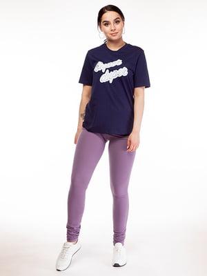 Леггинсы фиолетовые | 5315220