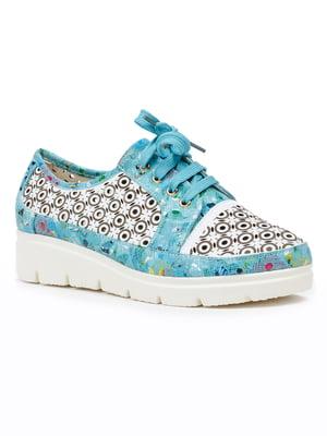 Туфлі блакитні | 5315248