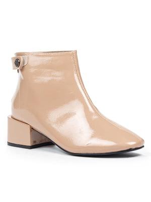 Ботинки бежевые | 5315245