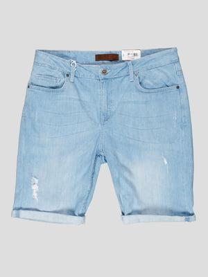 Шорты джинсовые голубые | 5311804