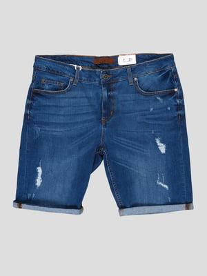 Шорты джинсовые синие | 5311805