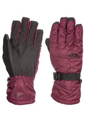 Рукавички темно-фіолетові | 5315600