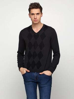 Пуловер темно-серого цвета | 5316194