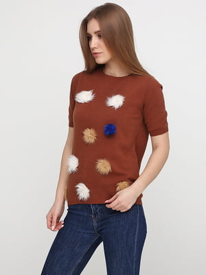 Джемпер коричневий | 5316209