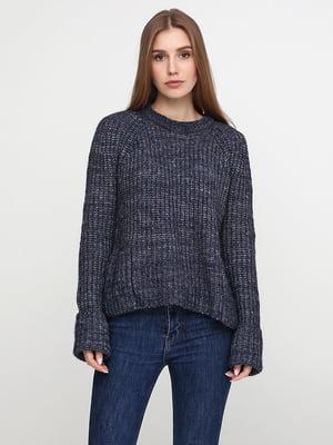 Джемпер темно-синього кольору | 5316218