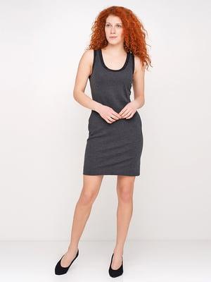 Сукня темно-сірого кольору | 5316251