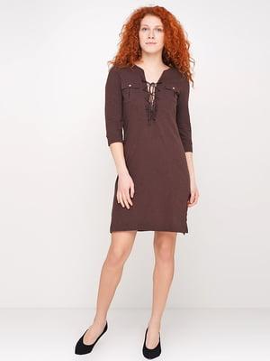Сукня коричнева | 5316255