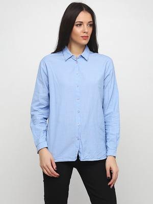 Рубашка голубая | 5316287