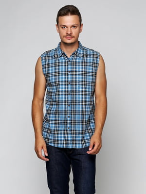 Рубашка синяя | 5316488