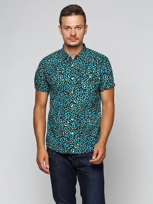 Рубашка бирюзовая   5316490