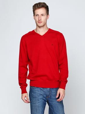 Пуловер красный | 5316508