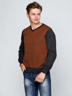 Пуловер коричневый | 5316510
