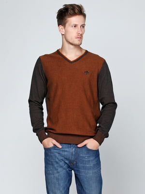 Пуловер коричневый | 5316511